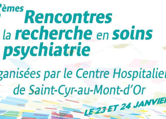(69) 6èmes Rencontres de la Recherche en Soins en Psychiatrie - janvier 2020