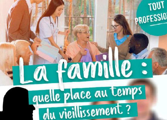 3ème journée d'étude FFPP Aquitaine / APsyG - La famille: quelle place au temps du vieillissement? 30 janvier 2020 à Pau